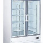 Commercial-Restaurant-Glass-Double-2-Door-Reach-in-Freezer-Ice-Merchandiser-0