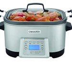 Crock-Pot-6-Quart-5-in-1-Multi-Cooker-with-Non-Stick-Inner-Pot-Stainless-Steel-0
