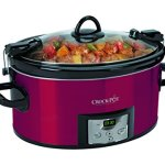 Crock-Pot-6-Quart-Programmable-Cook-Carry-Oval-Slow-Cooker-with-Digital-Timer-Red-0