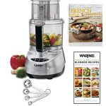 Cuisinart-Prep-11-Plus-Brushed-Stainless-Steel-11-Cup-Food-Processor-2-Cookbooks-and-Measuring-Spoon-Set-0