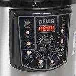 DELLA-048-GM-48237-10-quart-1400W-8-in-1-Programmable-Electric-Pressure-Cooker-Silver-Small-0-2