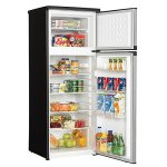 Danby-DPF073C1BSLDD-Designer-73-cuft-Two-Door-Apartment-Size-Refrigerator-Steel-0-1