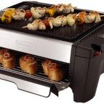 DeLonghi-BQ100-Indoor-Grill-and-Smokeless-Broiler-0
