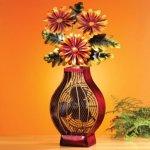 DecoBREEZE-Flower-Bouquet-Figurine-Fan-Two-Speed-Electric-Circulating-Fan-0-0