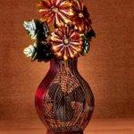 DecoBREEZE-Flower-Bouquet-Figurine-Fan-Two-Speed-Electric-Circulating-Fan-0-1
