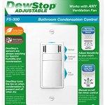 DewStop-FS-300-W1-Adjustable-Bathroom-Fan-Control-Switch-White-0-0