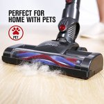 Dibea-C17-Cordless-2-in-1-Lightweight-Stick-Handheld-Vacuum-Cleaner-Rechargeable-Lithium-ion-Battery-with-Charging-Base-Red-0-1