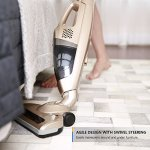 Dibea-KB-9008-Cordless-Upright-Vacuum-Cleaner-2-in-1-Stick-and-Handheld-Vacuum-with-Rechargeable-2200mAh-Li-ion-Battery-and-Charging-Base-Gold-0-2