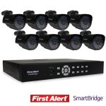 First-Alert-SmartBridge-DVR-Video-Security-System-8-Channel-and-8-Night-Vision-560-TVL-Cameras-DCA8810-560BB-by-First-Alert-0