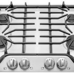 Frigidaire-FFGC3026SS-30-Gas-Sealed-Burner-Style-Cooktop-with-4-Burners-ADA-Compliant-in-Stainless-Steel-0-0