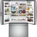 GE-Profile-PWE23KSKSS-36-Energy-Star-Counter-Depth-French-Door-Refrigerator-with-231-cu-ft-Capacity-Stainless-Steel-0-1