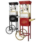 Great-Northern-Popcorn-Red-Matinee-Movie-Theater-Style-8-Ounce-Antique-Popcorn-Machine-0