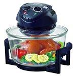 Hometech-12-Quart-1200W-Halogen-Cooking-Convection-Countertop-Oven-0-0