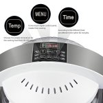 Hometech-Patented-1200W-13L-Spaceship-Air-Fryer-Deep-Fryer-Healthy-No-Fat-Oil-Free-6-One-touch-Cooking-Options-Far-Infrared-3D-Heating-Technology-for-Kitchen-Cooker-White-0-1