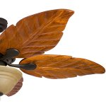 Honeywell-Sabal-Palm-52-Inch-Tropical-Ceiling-Fan-with-Sunset-Bowl-Light-Five-Hand-Carved-Wooden-Leaf-Blades-LindenwoodBasswood-Bronze-0-2