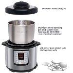 Instant-Pot-IP-LUX60-6-in-1-Programmable-Pressure-Cooker-633-Quart-1000-Watt-0-2