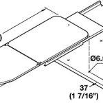 Ironing-Board-Shelf-Mounted-by-Hafele-folding-steel-epoxy-white-0-2