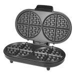 Kalorik-Non-Stick-Black-Stainless-Steel-Double-Belgian-Waffle-Maker-Black-0-0