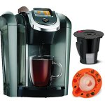 Keurig-K545-Plus-Coffee-Maker-Single-Serve-20-Brewing-System-with-Top-Needle-Cleaning-Maintenance-Accessory-and-My-K-Cup-Reusable-Coffee-Filter-Platinum-0