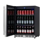 KingsBottle-160-Can-Beverage-Cooler-Stainless-Steel-with-Glass-Door-0-2