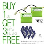 Lithium-Neato-XV-Series-Replacement-Battery-for-Neato-XV-11-XV-12-XV-14-XV-15-XV-21-XV-25-XV-Essential-XV-Signature-and-XV-Signature-Pro-4400mAH-Set-of-2-ULCE-Certified-Battery-Component-0