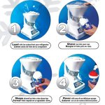 Little-Snowie-2-Ice-Shaver-Premium-Shaved-Ice-Machine-and-Snow-Cone-Machine-with-Syrup-Samples-0-1