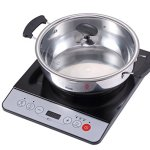 Midea-1500W-Induction-cooktop-cooker-with-stainless-steel-pot-0