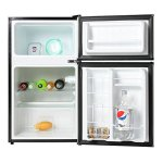 Midea-WHD-113FB1-Compact-Reversible-Double-Door-Refrigerator-and-Freezer-31-Cubic-Feet-Black-0-1
