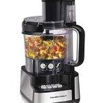 New-Hamilton-Beach-70725-12-Cup-Stack-and-Snap-Food-Processor-Powerful-450-Watt-0