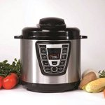 Power-Cooker-PC-WAL1-Pro-Digital-Electric-Pressure-Cooker-Canner-6-Quart-Black-Stainless-Steel-Certified-Refurbished-0-0