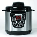 Power-Cooker-PC-WAL1-Pro-Digital-Electric-Pressure-Cooker-Canner-6-Quart-Black-Stainless-Steel-Certified-Refurbished-0