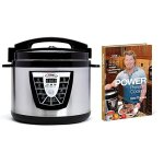 Power-Pressure-Cooker-XL-10-Qt-with-Eric-Theiss-Power-Pressure-Cooking-Cookbook-0