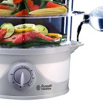 Russell-Hobbs-21140-Three-Tier-Food-Steamer-9-L-800-Watt-0-2