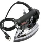 Silver-Star-Bottle-Steam-Iron-ES-85-Gravity-Feed-Steam-Iron-with-Non-Stick-Laminate-Sole-Plate-Demineralizer-0-0