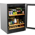 Smith-Hanks-BEV145SRE-178-Can-Capacity-Single-Zone-Under-Counter-Beverage-Refrigerator-24-Inch-Width-Built-In-or-Free-Standing-0-1