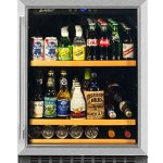 Smith-Hanks-BEV145SRE-178-Can-Capacity-Single-Zone-Under-Counter-Beverage-Refrigerator-24-Inch-Width-Built-In-or-Free-Standing-0