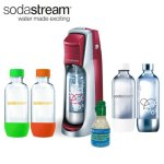 SodaStream-Fountain-Jet-Soda-Maker-Exclusive-Kit-Includes-4-Bottles-Mini-CO2-Eco-First-24-Oz-To-Go-Cup-Pink-Grapefruit-and-Berry-Waters-Zeros-and-Xstream-Energy-Drink-Mixes-0-0