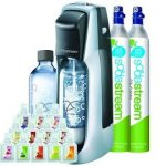 Sodastream-Fountain-Jet-Soda-Maker-Starter-Kit-Extra-SodaStream-60-Liter-Carbonator-Spare-Cylinder-0