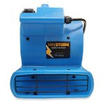 Soleaire-Mini-Storm-112-HP-380-CFM-Mini-Air-Mover-Carpet-Dryer-Floor-Blower-Fan-for-Home-Use-Blue-0