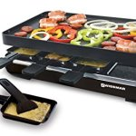 Swissmar-8-Person-Classic-Raclette-with-Reversible-Cast-Iron-Grill-Plate-Black-0-2