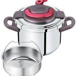 T-fal-pressure-cooker-Kuripuso-arch-one-touch-opening-and-closing-IH-corresponding-paprika-Red-6L-P4360732-0