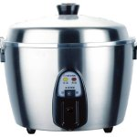 Tatung-TAC-11KNUL-11-Cup-Multi-Functional-Stainless-Steel-Rice-Cooker-Silver-Gray-0