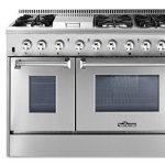 Thorkitchen-HRD4803U-48-Freestanding-Professional-Style-Dual-Fuel-Range-with-42-and-25-cu-ft-Double-Oven-6-Burners-Griddle-Convection-Fan-Stainless-Steel-0