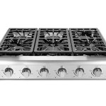 Thorkitchen-Pro-Style-Gas-Rangetop-with-6-Sealed-Burners-36-Inch-Stainless-Steel-HRT3618U-0