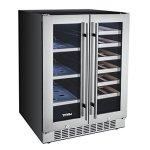 Titan-24-Inch-Built-In-French-Door-Wine-and-Beverage-Refrigerator-0-1