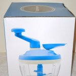 Tupperware-PRO-Quick-Blue-Chef-Food-Chopper-Onions-Veges-NEW-0