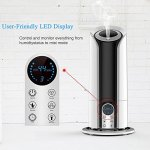 Updated-Version-5-Liter-Ultrasonic-Digital-Cool-Mist-Humidifier-with-Remote-Control-YCFlying-3-Mist-Level-Control-Automatic-Shut-off-Nightlight-LCD-Display-Whisper-Quiet-for-Home-Office-Baby-0-0