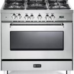 Verona-VEFSGE365NSS-36-Freestanding-Dual-Fuel-Range-with-5-Sealed-Burners-in-Stainless-Steel-0