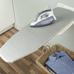 Wall-Mounted-Ironing-Board-by-Hafele-easy-installation-storage-folding-white-and-gray-stripes-0