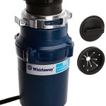 Whirlaway-191PC-13-hp-Garbage-Disposal-with-Cord-Blue-0